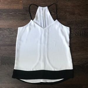 BOGO Cute Black and White Express Tank Top